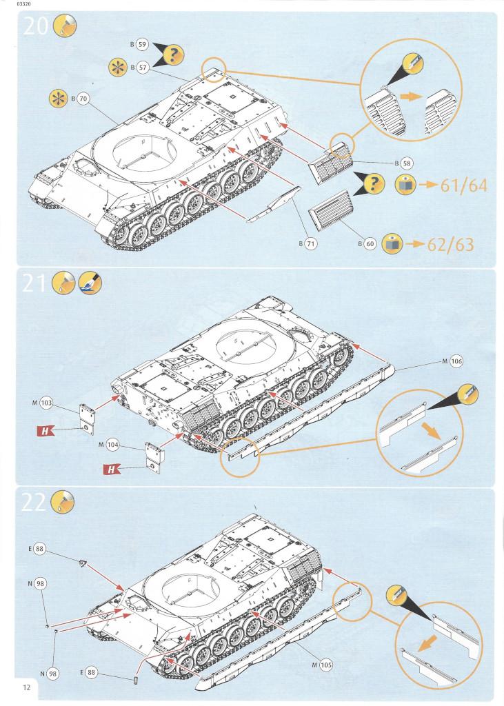 Anleitung12 Leopard 1A5 1:35 Revell (#03320)