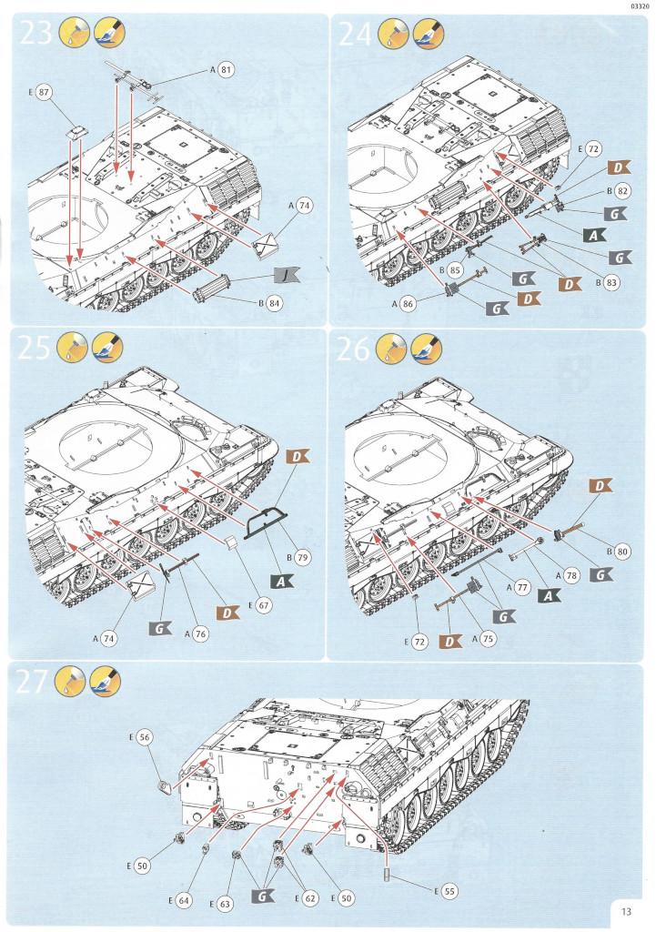 Anleitung13 Leopard 1A5 1:35 Revell (#03320)