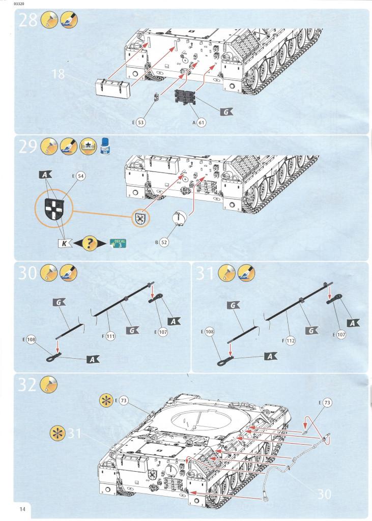 Anleitung14 Leopard 1A5 1:35 Revell (#03320)