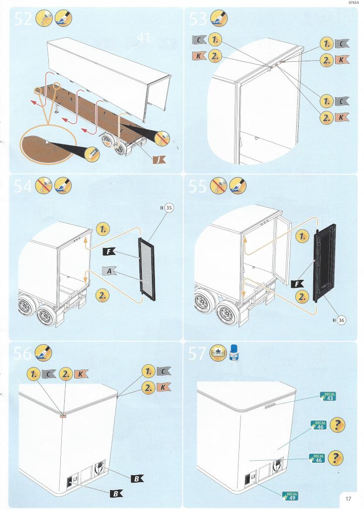 Anleitung17-1 Motörhead Tour Truck 1:32 Revell #07654