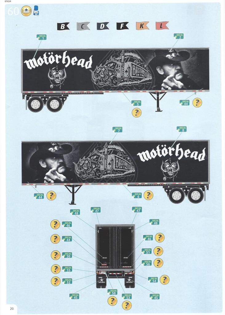 Anleitung20-1 Motörhead Tour Truck 1:32 Revell #07654