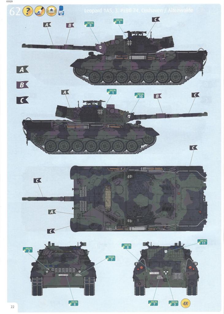 Anleitung22 Leopard 1A5 1:35 Revell (#03320)