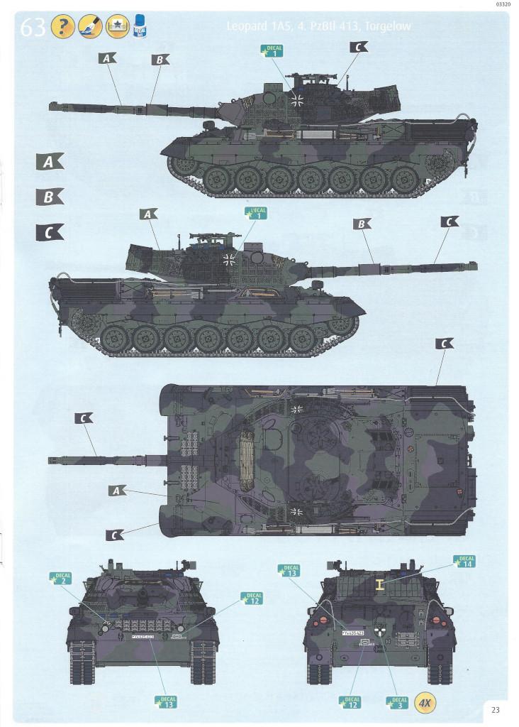 Anleitung23 Leopard 1A5 1:35 Revell (#03320)