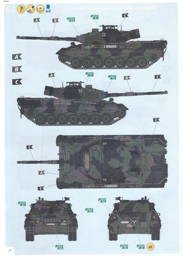 Anleitung24 Leopard 1A5 1:35 Revell (#03320)