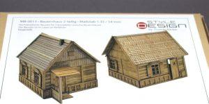 Zwei Russische Bauernhäuser – 1/35 – Style-Design – Art.Nr. MB-0013