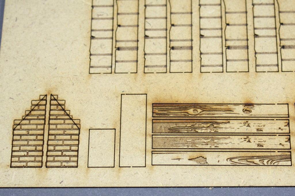 Bild-10 Zwei Russische Bauernhäuser - 1/35 - Style-Design - Art.Nr. MB-0013