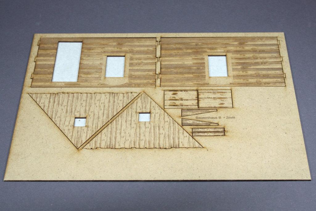 Bild-3 Zwei Russische Bauernhäuser - 1/35 - Style-Design - Art.Nr. MB-0013