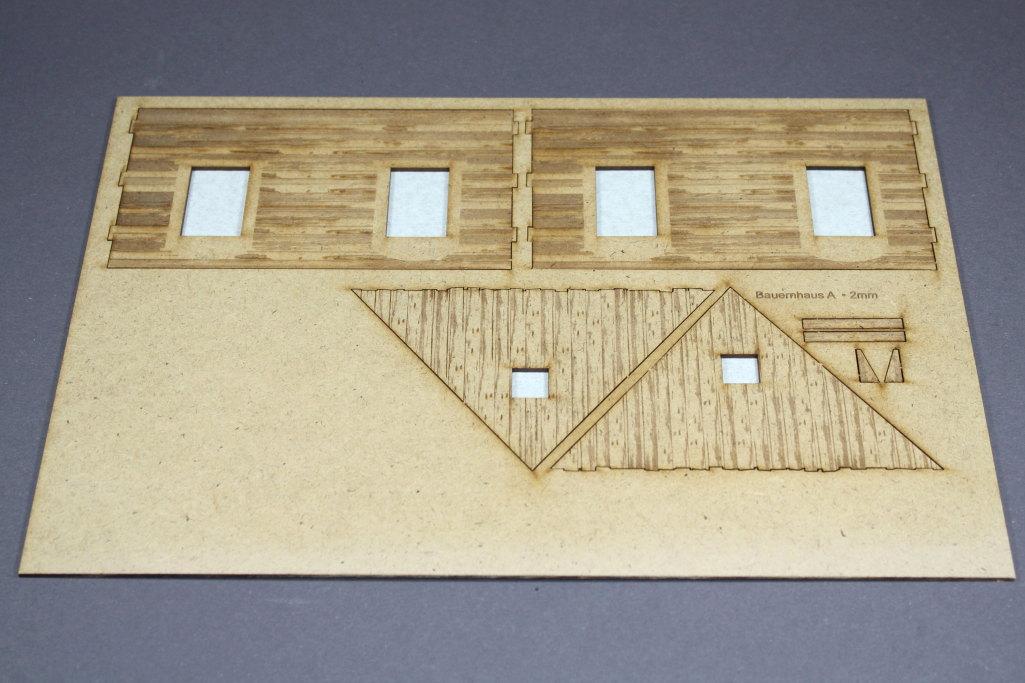 Bild-5 Zwei Russische Bauernhäuser - 1/35 - Style-Design - Art.Nr. MB-0013