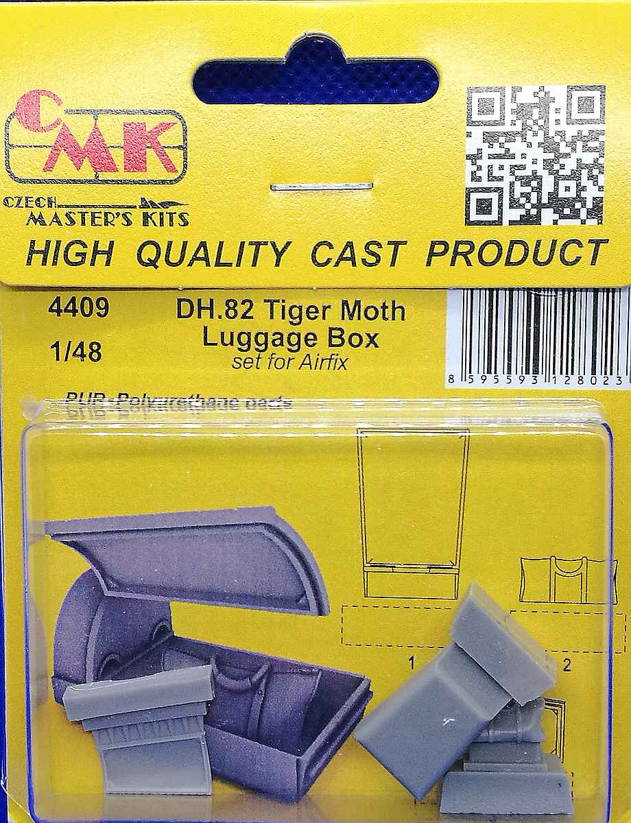 CMK-4409-DH.-82-Tiger-Moth-Luggage-Box-1 CMK-Detailsets für die Tiger Moth in 1:48