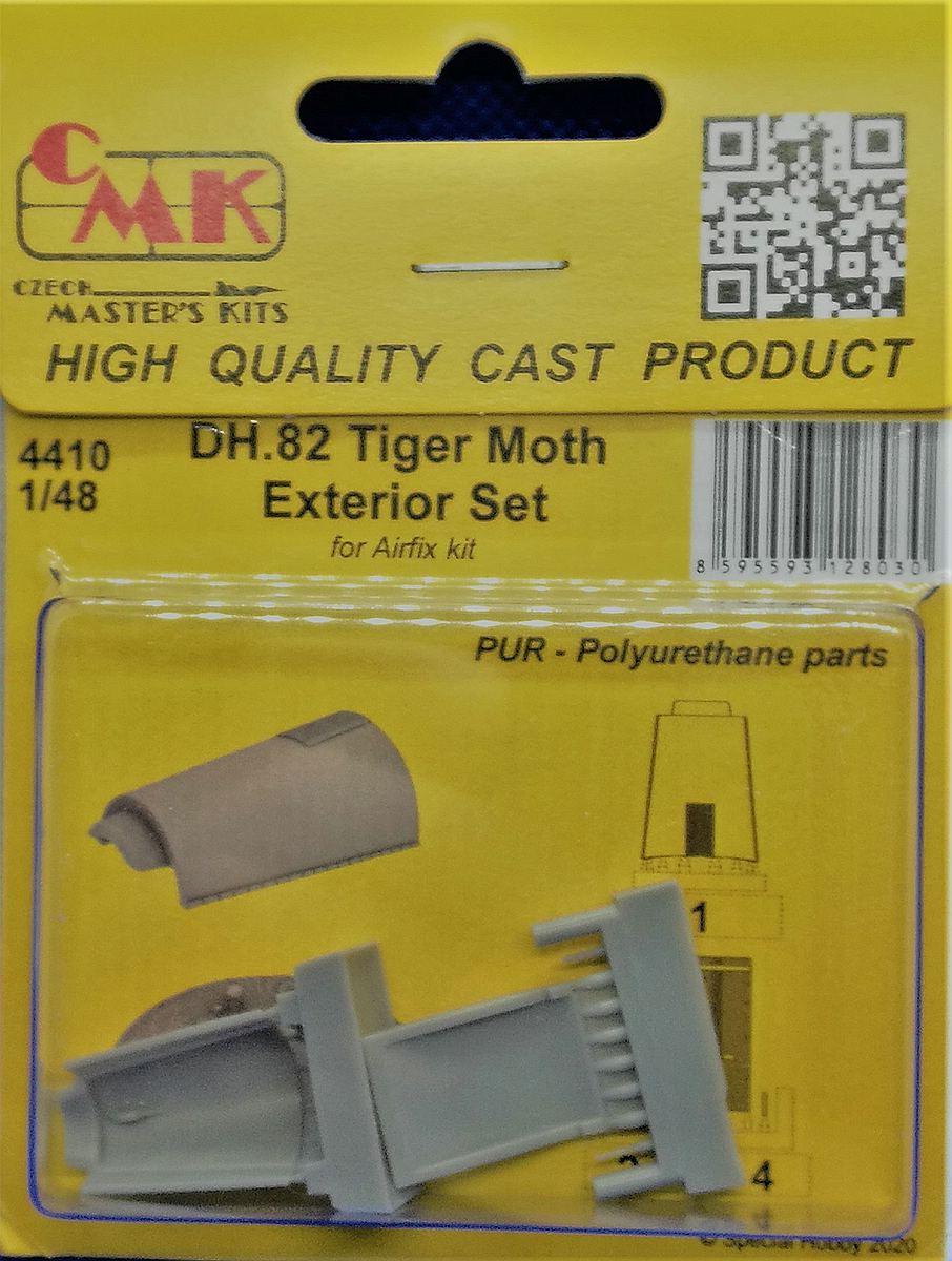 CMK-4410-DH.-82-Tiger-Moth-Exterior-Set-1 CMK-Detailsets für die Tiger Moth in 1:48