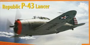 Republic P-43 Lancer in 1:48 von Dora Wings # 48029