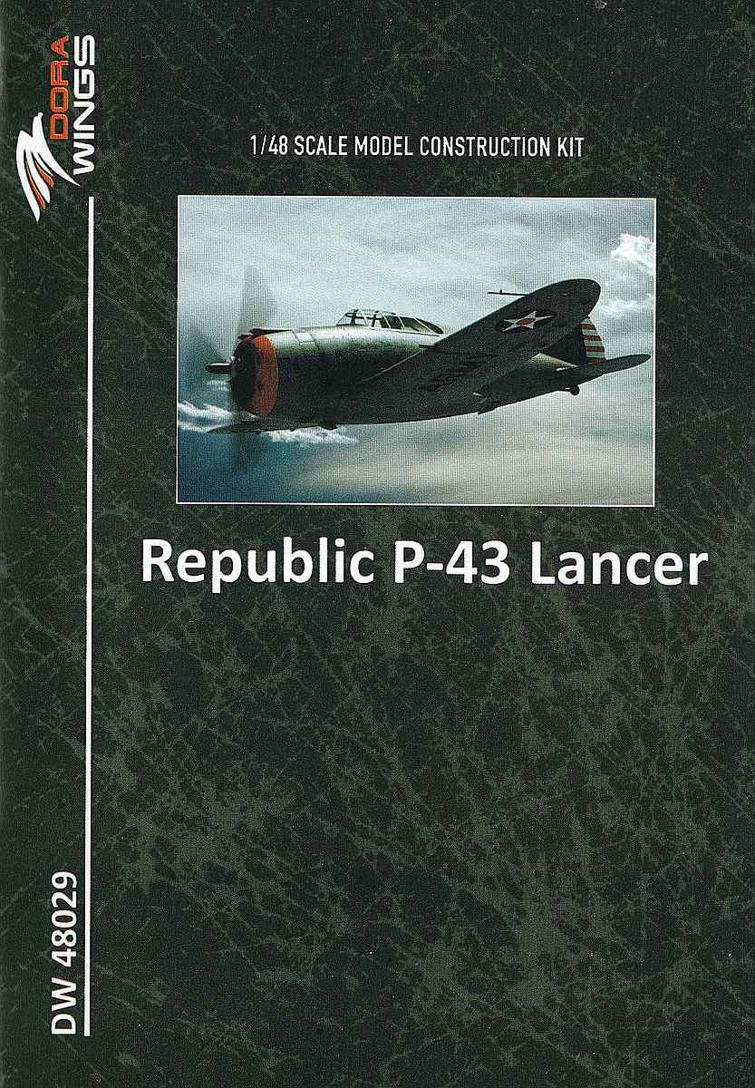 DoraWings-48029-Republic-P-43-Lancer-43 Republic P-43 Lancer in 1:48 von Dora Wings # 48029