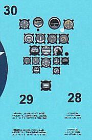 DoraWings-48029-Republic-P-43-Lancer-50 Republic P-43 Lancer in 1:48 von Dora Wings # 48029