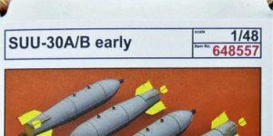 SUU-30 A/B Abwurfbehälter von Eduard #648557