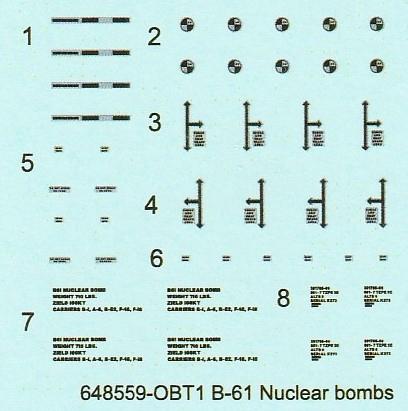 Eduard-648559-B-61-Nuclear-Bomb-7 B-61 Nuclear Bomb in 1:48 von Eduard #648559