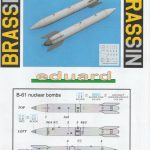 Eduard-648559-B-61-Nuclear-Bomb-8-150x150 B-61 Nuclear Bomb in 1:48 von Eduard #648559