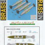 Eduard-648562-GBU-31-13-150x150 GBU-31(V)1B JDAM-Bombe in 1:48 von Eduard #648562