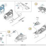 Eduard-672179-MiG-21-MF-Fighter-Bomber-Cockpit-Bauanleitung-001-4-150x150 Eduard MiG-21MF Cockpit in 1:72 # 672179 und 672180