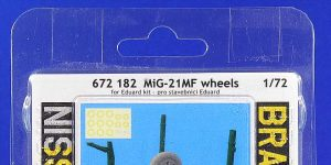 MiG-21MF Wheels in 1:72 von Eduard # 672182