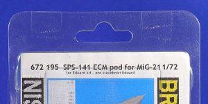 MiG-21 ECM pod in 1:72 von Eduard # 672195