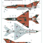 Eduard-672195-MiG-21-SPS-141-ECM-pod-4-150x150 MiG-21 ECM pod in 1:72 von Eduard # 672195