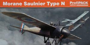 Morane Saulnier Type N im Maßstab 1:48 ProfiPack von Eduard #8095