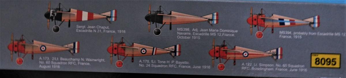 Eduard-8095-Morane-Saulnier-Type-N-2 Morane Saulnier Type N im Maßstab 1:48 ProfiPack von Eduard #8095