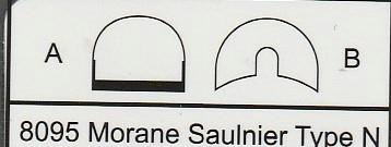 Eduard-8095-Morane-Saulnier-Type-N-27 Morane Saulnier Type N im Maßstab 1:48 ProfiPack von Eduard #8095