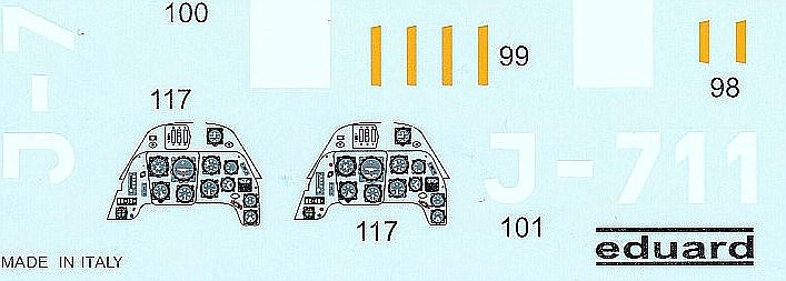 Eduard-BFC-015-Bf-109G-Royal-Decals-5 Eduard Decals Bf 109 G Royal in 1:48 #BFC015