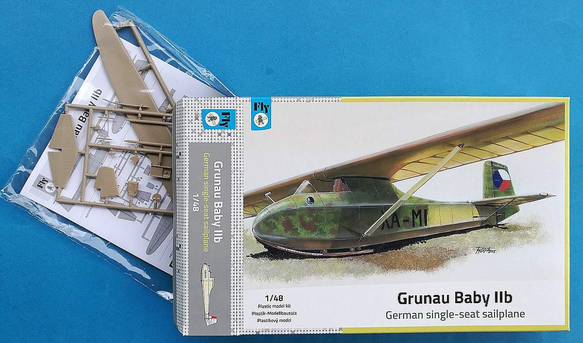 FLY-48029-Grunau-Baby-IIb-10 Grunau Baby IIb in 1:48 von FLY #48029
