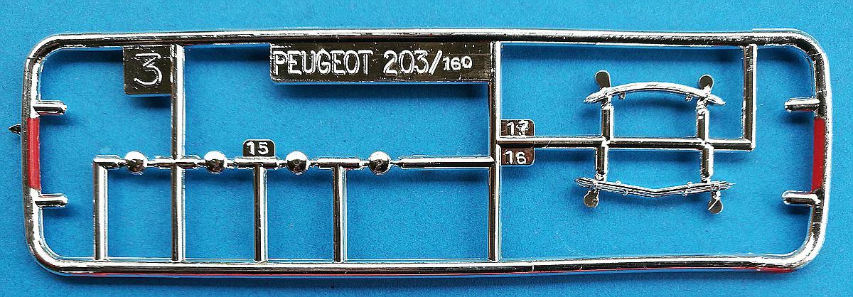 Heller-160-Peugeot-203-1zu43-14 Kit-Archäologie: Peugeot 203 in 1:43 von Heller #160