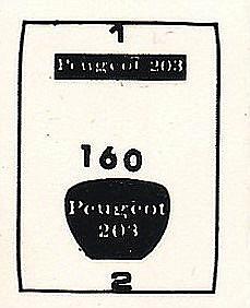 Heller-160-Peugeot-203-1zu43-26 Kit-Archäologie: Peugeot 203 in 1:43 von Heller #160