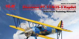 Stearman PT-17 Kaydet in 1:32 von ICM #32050