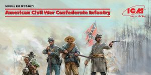 Confederate Infantry in 1:35 von ICM # 35021