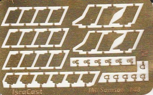 "IsraCast-IC-48051-IMI-Samson-11 IMI ""Samson"" Unpowered Radar Decoys von IsraCast in 1:48 #IC 48051"
