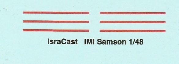 "IsraCast-IC-48051-IMI-Samson-12 IMI ""Samson"" Unpowered Radar Decoys von IsraCast in 1:48 #IC 48051"