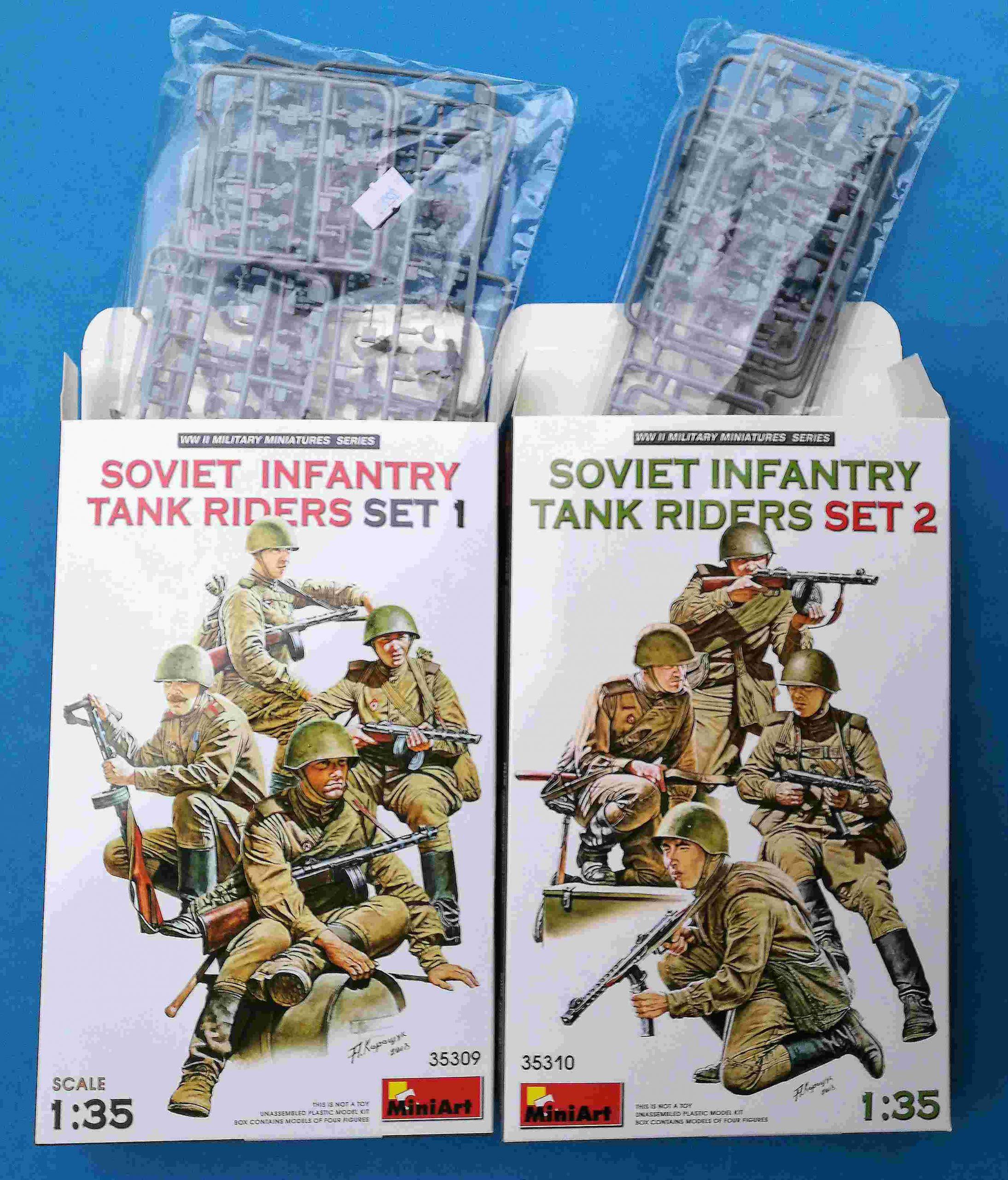 MIniArt-35309-Soviet-Tank-Riders-1-4-scaled Soviet Tank Riders in 1:35 von MiniArt #35309 und 35310