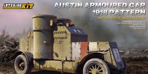 Austin Armoured Car 1918 pattern Western Front in 1:35 von MiniArt # 39009