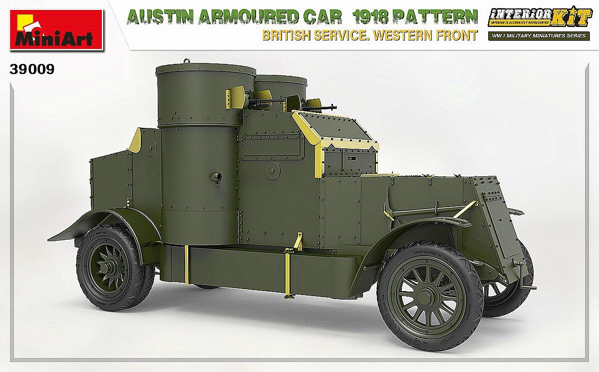 MIniArt-39009-Austin-1918-Pattern-4 Austin 1918 pattern Western Front von MiniArt # 39009
