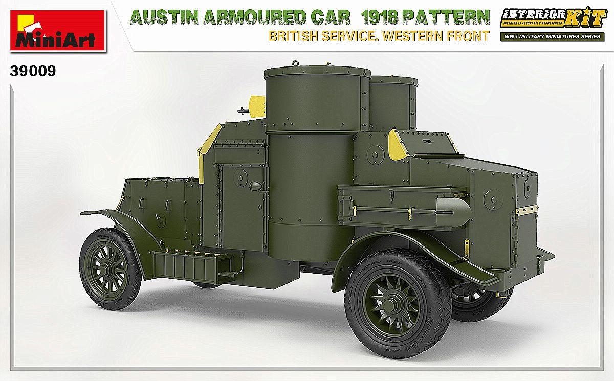 MIniArt-39009-Austin-1918-Pattern-5 Austin 1918 pattern Western Front von MiniArt # 39009