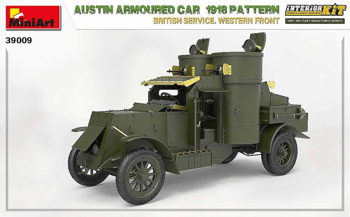 MIniArt-39009-Austin-1918-Pattern-6 Austin 1918 pattern Western Front von MiniArt # 39009