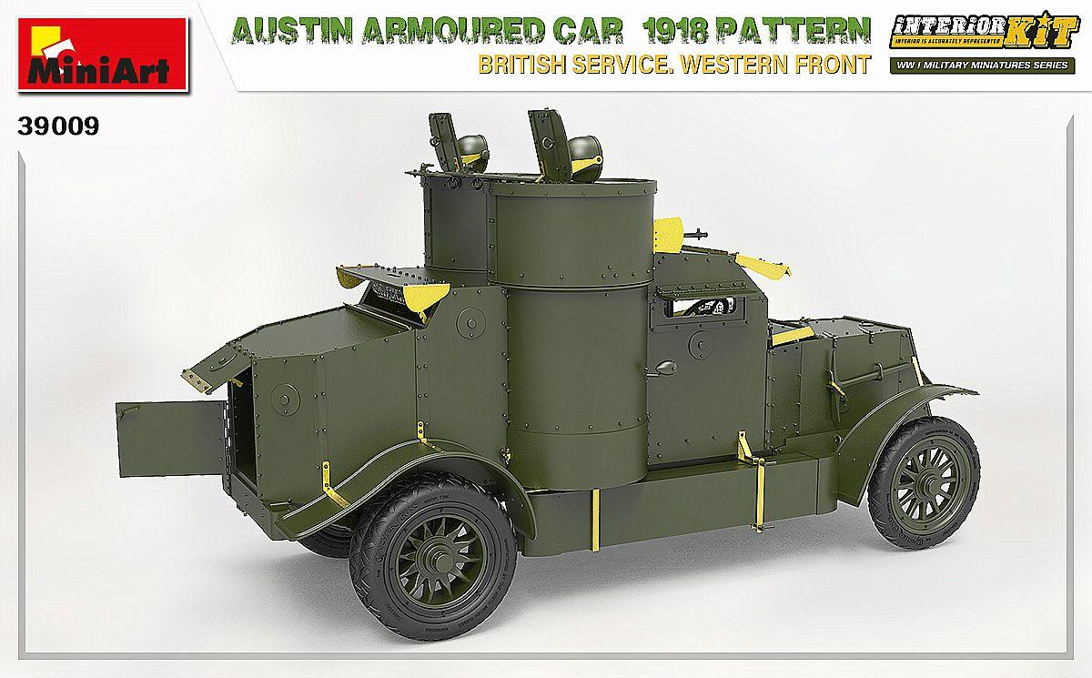 MIniArt-39009-Austin-1918-Pattern-7 Austin 1918 pattern Western Front von MiniArt # 39009