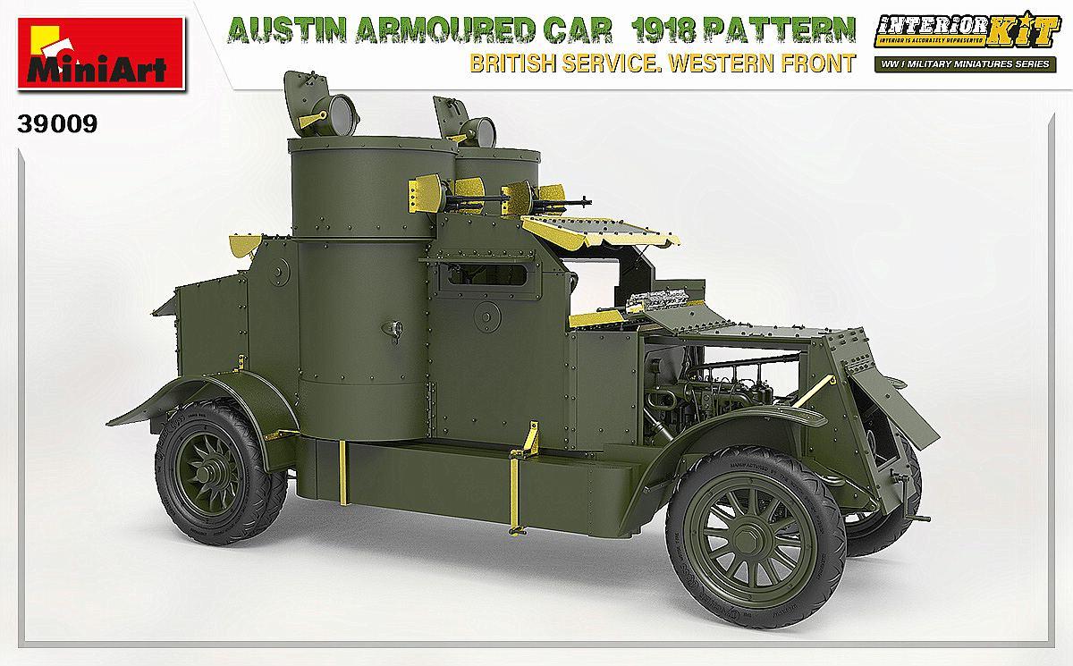MIniArt-39009-Austin-1918-Pattern-8 Austin 1918 pattern Western Front von MiniArt # 39009