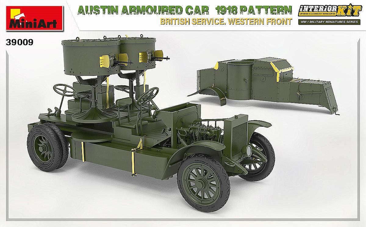 MIniArt-39009-Austin-1918-Pattern-9 Austin 1918 pattern Western Front von MiniArt # 39009