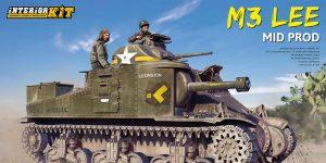 M3 Lee Mid. Production Full Interior von MiniArt # 35209