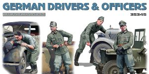 German Drivers and Officers in 1:35 von MiniArt