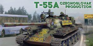 Demnächst: T-55A Czechoslovak Production 1:35 von MiniArt