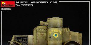 Gebaut: Austin Armoured Car von MiniArt # 39005