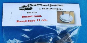 Desert Road round base 11cm in 1:72 von ModellTrans # MTR 7227