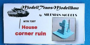 House Corner Ruin in 1:72 von ModellTrans # 7207